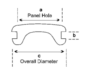 BLIND GROMMET - COMPONETES DE HULE