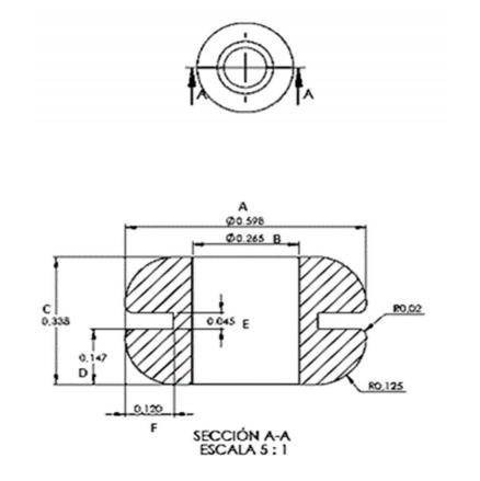 Grommet silicón