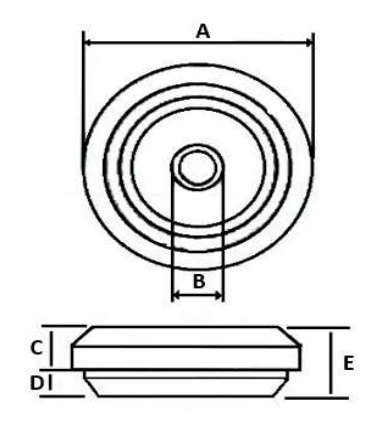 IP67 Grommet, M16