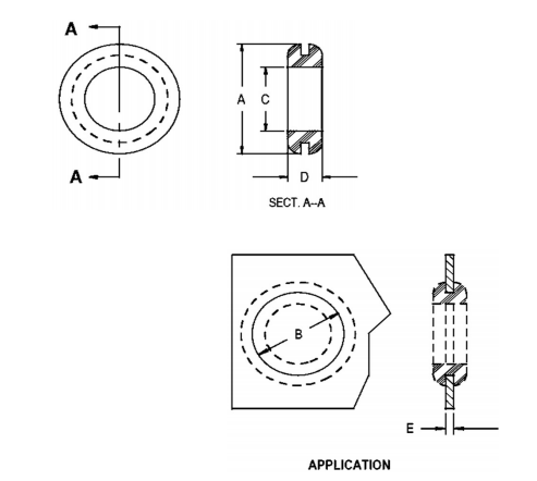 Insulating Hole Grommets