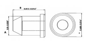 PLUG PLASTIC FOR 9/16″ COMPONETES DE HULE